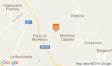 Carte Camaiore Villa 107103