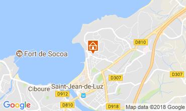Carte Saint Jean de Luz Appartement 114915