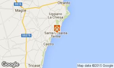 Carte Santa Cesarea Terme Studio 98187