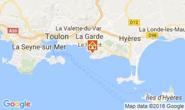 Carte Le Pradet Villa 115101