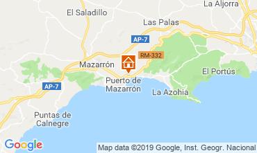 Carte Puerto de Mazarrón Appartement 113039