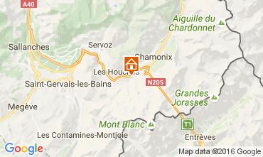 Carte Chamonix Mont-Blanc Chalet 106440