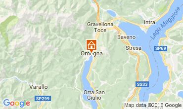 Carte Orta San Giulio Appartement 106597