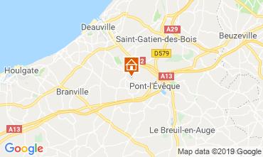 Carte Deauville Chambre d'hôte 118008