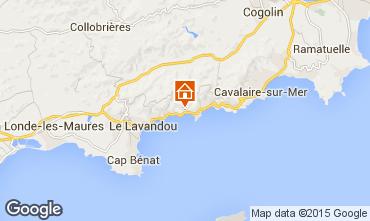 Carte Le Lavandou Appartement 85247