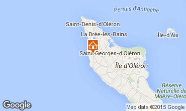 Carte Saint Georges d'Oléron Maison 63363