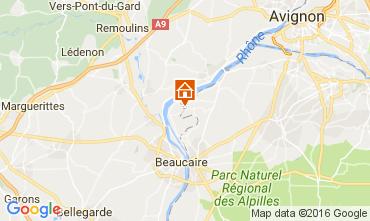 Carte Avignon Gite 101978