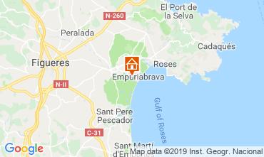 Carte Empuriabrava Villa 119891