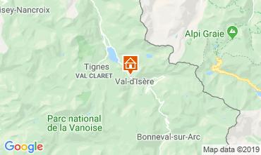 Carte Val d'Isère Appartement 3354