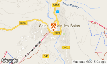 Carte Saint Gervais Mont-Blanc Appartement 90917