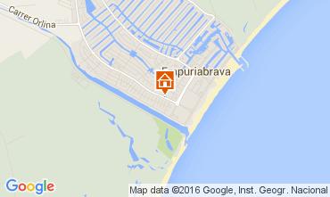 Carte Empuriabrava Villa 94506