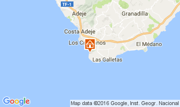 Carte Los Cristianos Appartement 103218