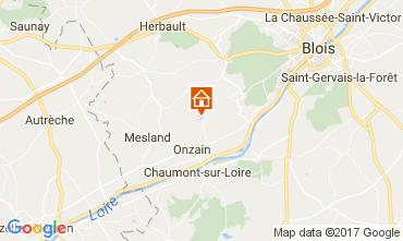 Carte Blois Mobil-home 110291