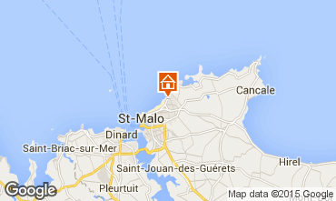 Carte Saint Malo Maison 76969