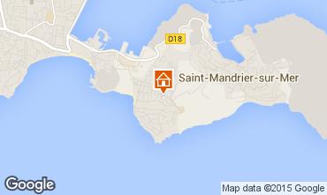 Carte Saint Mandrier sur Mer Studio 62076
