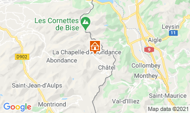 Carte Ch�tel Chalet 600