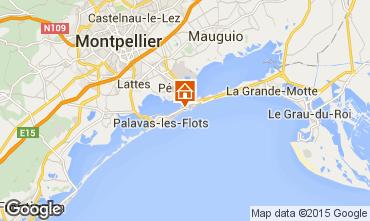 Carte Palavas-les-Flots Appartement 88115