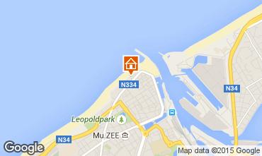 Carte Ostende Appartement 31824