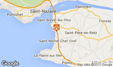 Carte Saint Brevin les Pins Mobil-home 46634