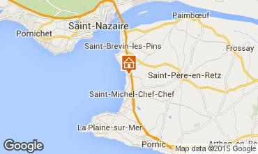 Carte Saint Brevin les Pins Mobil-home 46634
