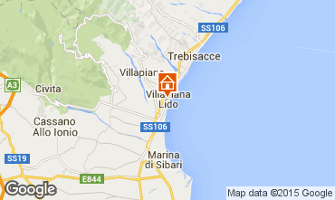 Carte Villapiana Appartement 71359
