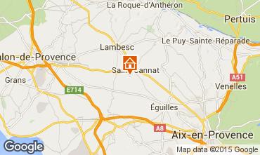 Carte Aix en Provence Villa 88796