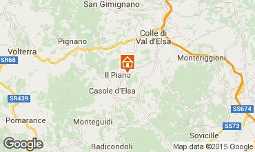 Carte Colle di Val d'Elsa Gite 76124