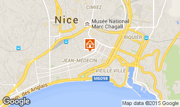 Carte Nice Appartement 87627