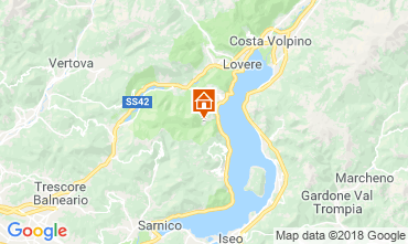 Carte Riva di Solto Appartement 113416