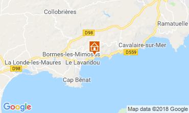 Carte Le Lavandou Appartement 116591