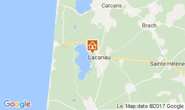 Carte Lacanau Maison 108013
