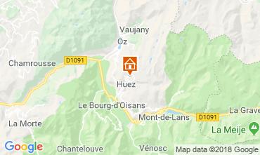 Carte Alpe d'Huez Studio 66809