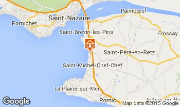 Carte Saint Brevin les Pins Mobil-home 98311
