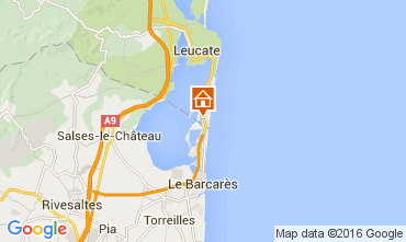Carte Port Leucate Maison 103921