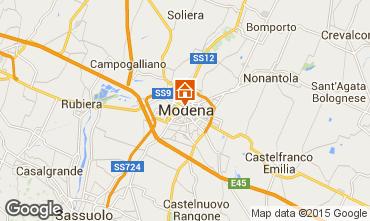 Carte Modène Appartement 64213