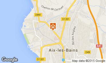 Carte Aix Les Bains Appartement 80483