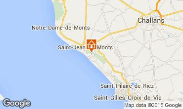 Carte Saint Jean de Monts Maison 101880