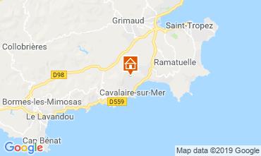 Carte Saint Tropez Villa 118878