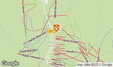 Carte Les 2 Alpes Chalet 91812