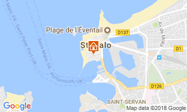Carte Saint Malo Studio 50940