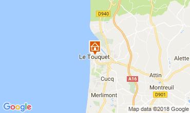 Carte Le Touquet Studio 114481