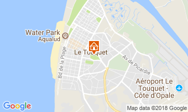 Carte Le Touquet Studio 114481