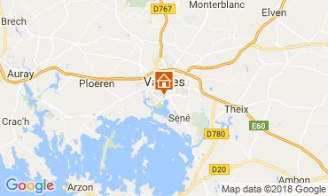 Carte Vannes Gite 113554