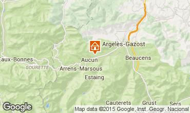 Carte Val d'Azun Gite 27762