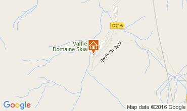 Carte Valfr�jus Studio 104379