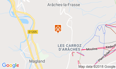 Carte Les Carroz d'Araches Appartement 80329
