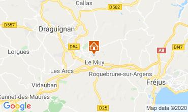 Carte Sainte Maxime Villa 116281