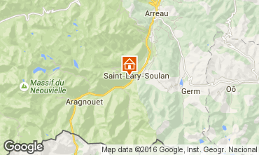 Carte Saint Lary Soulan Studio 4422