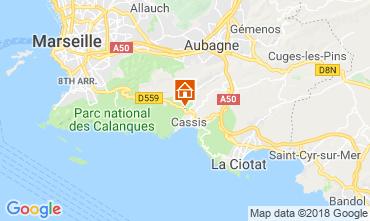 Carte Cassis Maison 116763