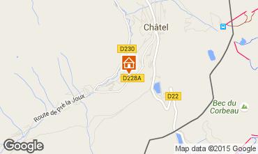 Carte Châtel Chalet 44057